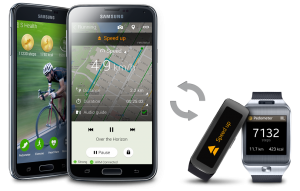 Samsung S5 S health