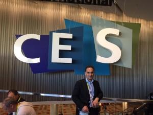 Entrée du CES 2015 Sands expo Tech West