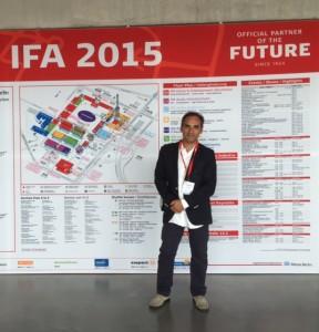 Brice Nadin IFA 2015 Berlin